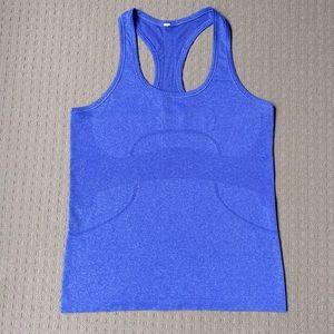 Lululemon women workout gym yoga tank top AU10